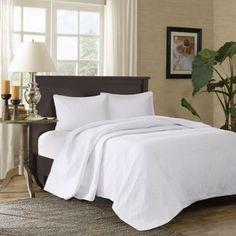 **$80.00  Madison Park Corinne 3-Piece Bedspread Set - BedBathandBeyond.com