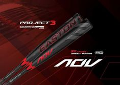 Bring out the best in the batter with this Easton Project 3 ADV BBCOR baseball bat. Espn Baseball, Baseball Gear, Baseball Socks, Baseball Bats, Thing 1, Project 3, High School, Bring It On, Baseball Batter