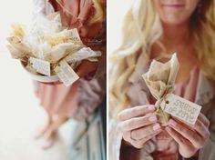 DIY Wedding Favors - Seed Bombs