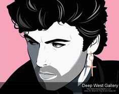 George Michael By Agent X Original 50 x 40 inches or 127 x 101 cm Prints 40 x 31 inches or 101 x 78 cm Edition of 40 Signed Michael Art, George Michael, Acrylic Painting On Paper, Paper Art, Multimedia Artist, Mixed Media Canvas, Figure Painting, Contemporary Paintings, Online Art