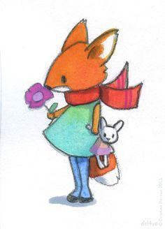 Le lapin dans la lune - Non dairy Diary - Welcome,August
