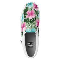 flores de verano zapatillas
