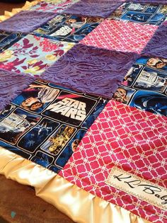 Hey, I found this really awesome Etsy listing at https://www.etsy.com/listing/174468351/girl-star-wars-blanket