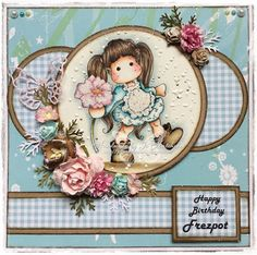Happy Birthday Freya and a bit of upcycling Bobs, Upcycle, Decorative Plates, Happy Birthday, Magnolia, Cards, Image, Happy Brithday, Upcycling