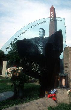Zentralfriedhof in Vienna, Austria - Falco grave ***___***
