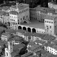 My Kind of Town: Gubbio is relentless, unflinching, solid, permanent, old, like an ancient, rocky landscape         Words  Joe Morris       Director of Duggan Morris Architects, whose projects include a floating cinema, the Ortus learning centre at