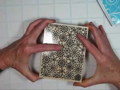 Kissing Technique-Shari Carroll shows you the simple steps of kissing with stamping (cardmaking video tutorial)