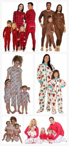 Matching pajamas: the perfect gift for a family or just the kids. Makes for adorable photos!