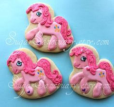 My Little Pony-Pinkie Pie cookies