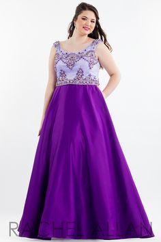 a0ac34deb13 Rachel Allan Plus Size Prom 7849 Mimi s Bridal and Prom