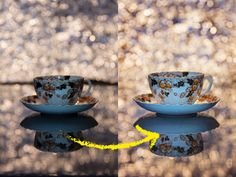 Create a still life bokeh backdrop in a way you may not have come across before