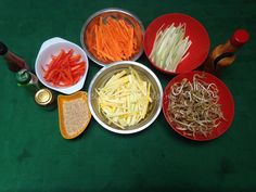 Paso 1 de Receta de Ensalada de verduras salteadas