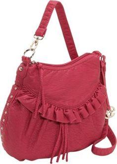 Image detail for -Ruffle Handbag: at Affordable Handbags.org