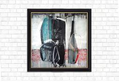 Composition, Acrilic on Canvas, 100cm X 100 cm