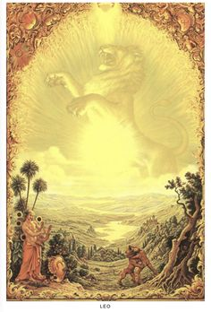 Moon In Leo, New Moon, Esoteric Art, Spirited Art, Poster Series, Celtic Symbols, Astrology Zodiac, Surreal Art, Deities