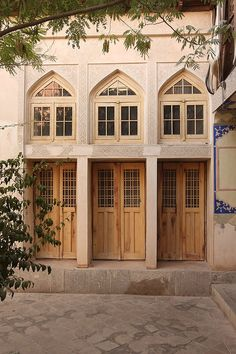 polsheer architects transformed a 300-year-old iranian residence into an architectural firm Western Rooms, Shaped Windows, Art Periods, Light Study, Small Courtyards, Historical Art, Architectural Elements, Old Houses, The Neighbourhood