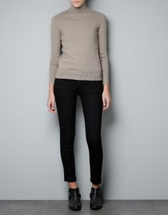 POLO NECK SWEATER - Woman - New this week - ZARA United States