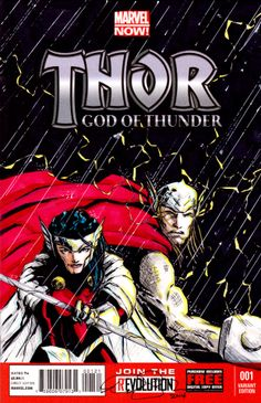 #sketchcover of #Thor and #sif #norse #asgard #marvelcomics #marvel #comicbook #comics #sketch #cover #art #superhero #hammer