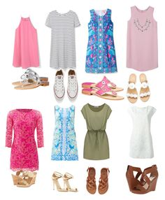 """""""Untitled #6"""" by amypavon on Polyvore featuring Lilly Pulitzer, Jack Rogers, MANGO, Via Spiga, Givenchy, Converse, Billabong, Yves Saint Laurent and Jessica Simpson"""
