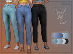 Trillyke - Artificial Love Jeans