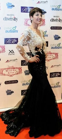 Soo many in box messages asking about this dress that i was wearing at Charity Fashion Show Wear it for Autism
