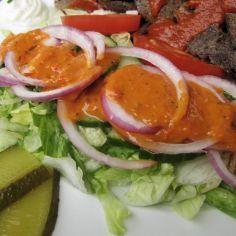 Taivaallinen salaatinkastike (kebabin salaatille) - Kotikokki.net - reseptit Penne, Caprese Salad, Food, Essen, Meals, Yemek, Pens, Insalata Caprese, Eten