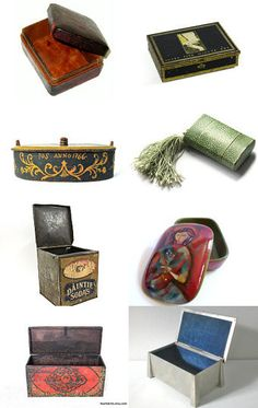 A Box for Everything! by CrowCreekVintage--Pinned with TreasuryPin.com