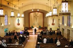 Catholic Wedding Church Weddings in Dallas #weddings #catholic #churchweddings #catholicwedding  Holy Trinity Catholic Church in Dallas