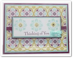 Stampin Up Madison Avenue & Sycamore Street DSP - Stamping With Guneaux Designs