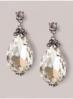 Clarice Earrings in Silver
