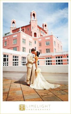 Loew's Don Cesar Beach Resort, St Mary's Catholic Church, Pink and Gold Wedding, Bride and Groom, Outdoors, Wedding Photography, Limelight Photography, www.stepintothelimelight.com