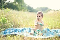 one year old baby messy birthday smash cake photo session in plano texas by zoedennis, via Flickr