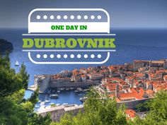 Is your cruise ship docking in Dubrovnik? Are you on holidays in Dubrovnik for just a day? Here is your guide to how to spend a day in Dubrovnik.
