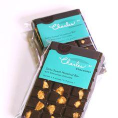 Salty-Sweet Hazelnut Bar | Charles Chocolates {favorite}