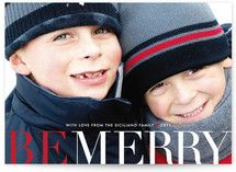 Big and Merry Holiday Photo Cards Holiday Photo Cards