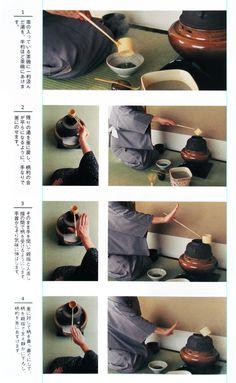 Serving Tea #Japan