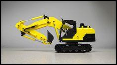 Lego Excavator | Flickr - Photo Sharing! drdesignz