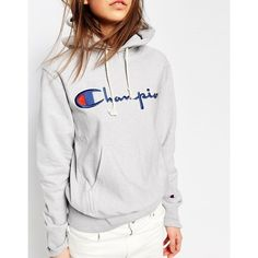 Champion Classic Oversized Pull Over Hoodie In Reverse Weave (2 8c777b3948