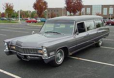 1967 Cadillac Miller-Meteor hearse