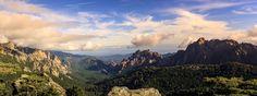 corsican mountain - null