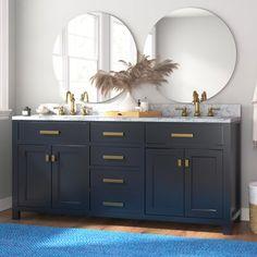 Master Bath Remodel, Master Bathroom, Vanity Bathroom, Downstairs Bathroom, Double Bathroom Vanities, Bathroom Inspiration, Bathroom Ideas, Bathroom Inspo, Bath Ideas