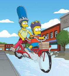 The simpsons on pinterest simpsons quotes homer simpson and android - Marge simpson et bart ...