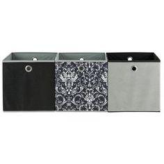 Buy Set Of 3 Storage Boxes   Damask At Argos.co.uk   Your