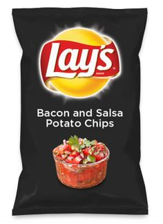 Wouldn't Bacon and Salsa Potato Chips be yummy as a chip? Lay's Do Us A Flavor is back, and the search is on for the yummiest chip idea. Create one using your favorite flavors from around the country and you could win $1 million! https://www.dousaflavor.com See Rules.