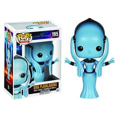 Diva Plavalaguna from The Fifth Element is coming soon! ETA October. #funkotree