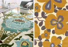 #design #rugs #fabric #textiles #interiordesign  flowers by alissa_thegoods, via Flickr