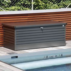 Surprising Metal Outdoor Storage Box Box Outdoor in size 1000 X 1000 Modern Outdoor Storage Bin - Storage units are among the main requirements Outdoor Storage Cupboard, Plastic Outdoor Storage Box, Modern Outdoor Storage, Patio Storage, Kitchen Storage, Shoe Storage Ottoman, Toy Storage Bench, Storage Boxes, Storage Ideas