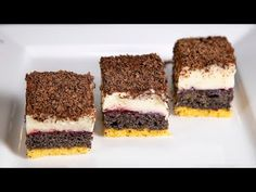 Mákos krémes (Szécsi Szilvi) - YouTube Tiramisu, Ethnic Recipes, Youtube, Poppy, Food, Essen, Meals, Tiramisu Cake, Youtubers
