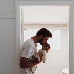Love dad and baby photos