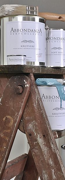 Abbodanza krijtverf Do It Yourself Home, Chalk Paint, Painted Furniture, Home And Garden, Tips, Decorations, Design, Home Decor, Winter